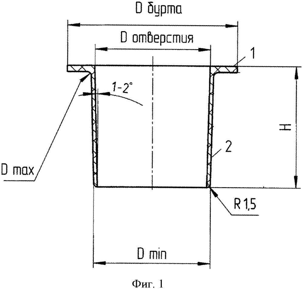 Уплотнительный колпачок для герметизации стыков отверстий вакуумно-пленочной литейной формы при производстве отливок из алюминиевых и других сплавов