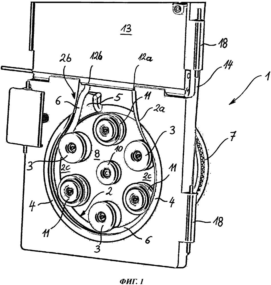 Рукавный насос с направляющим устройством вывода