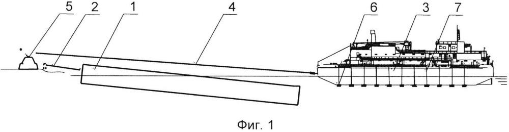 Способ подъема судна на горизонтальную стапель-палубу