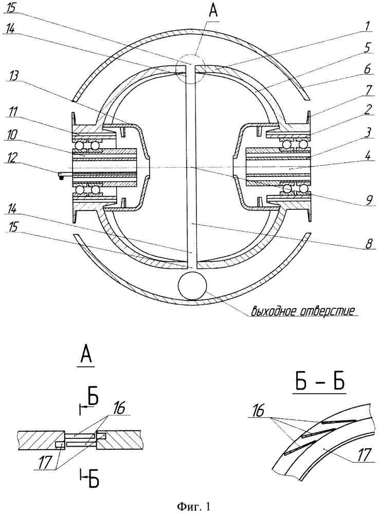 Устройство дезинтегратор-классификатор сыпучих материалов
