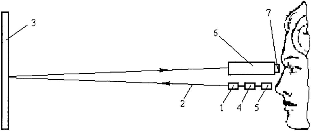 Способ прицеливания лазерным излучателем