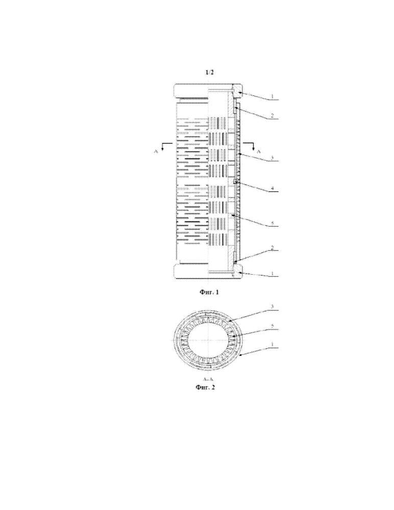 Подвижная комбинированная труба для борьбы с пескопроявлением, содержащая фильтры с осевыми и радиальными щелями