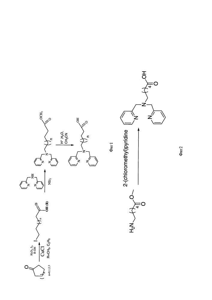 Способ получения ω-(бис(пиридин-2-илметил)амино)алифатических кислот - прекурсоров с хелатными центрами для связывания металлов