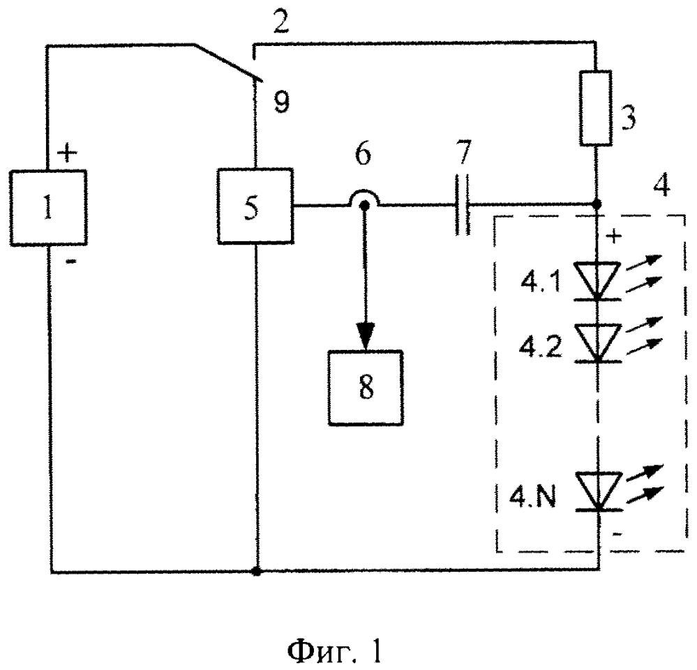 Светодиодный светофор с контролем холодного состояния