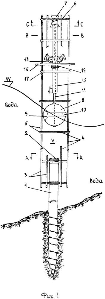 Волновая электрическая установка