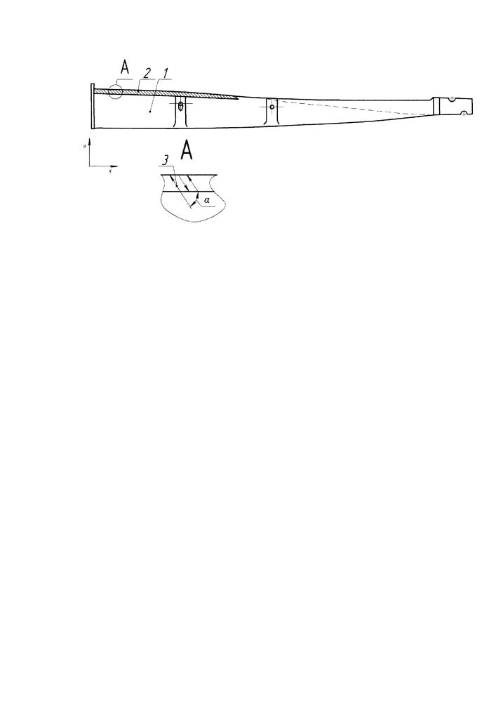 Способ лазерно-порошковой наплавки защитного покрытия на входные кромки рабочих лопаток паровых турбин