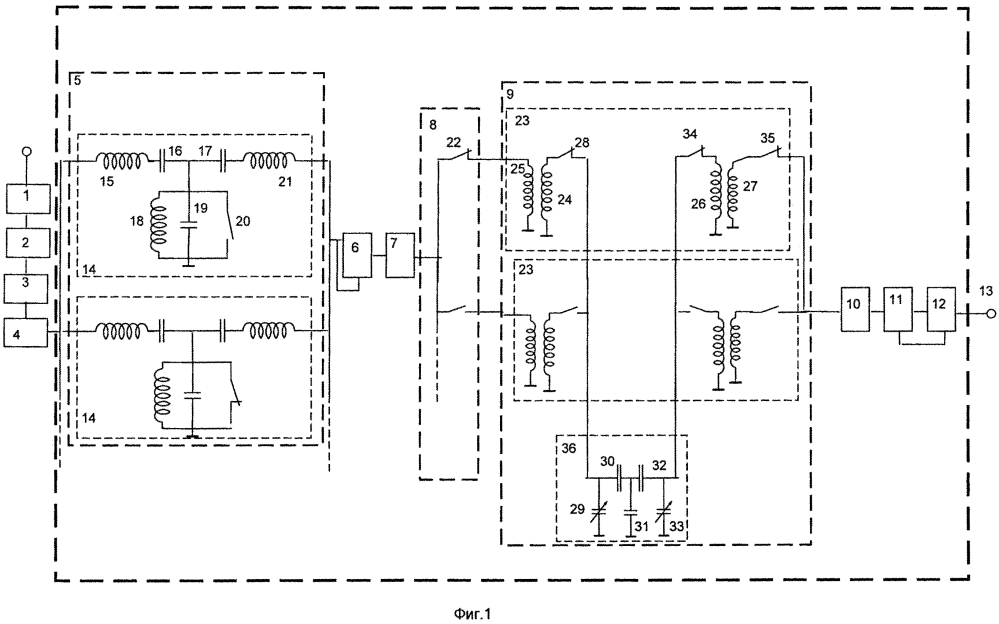 Входное устройство м диапазонного радиоприемника