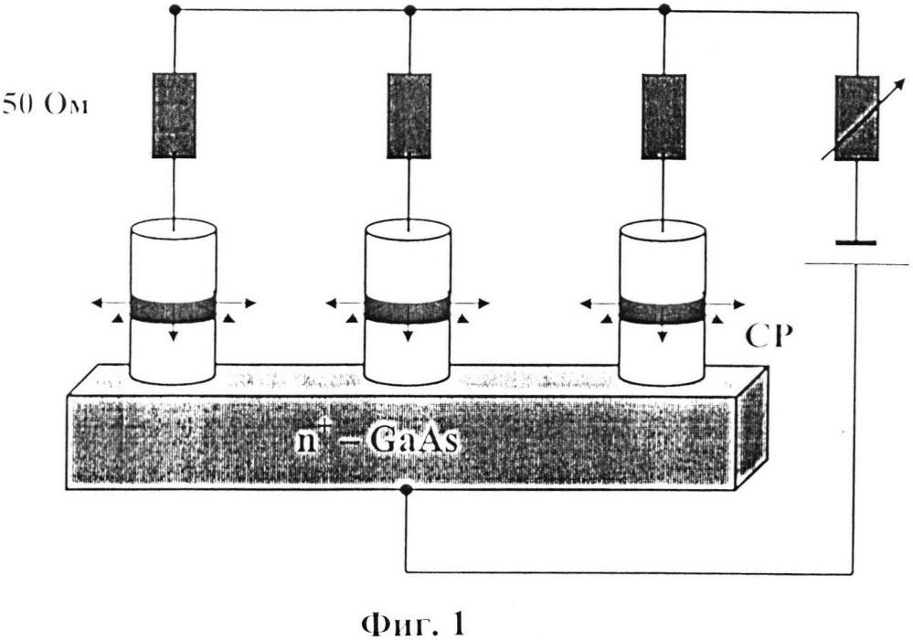 Способ усиления мощности радиочастотно-модулированного терагерцового излучения 30-периодной слабосвязанной полупроводниковой сверхрешетки gaas/algaas