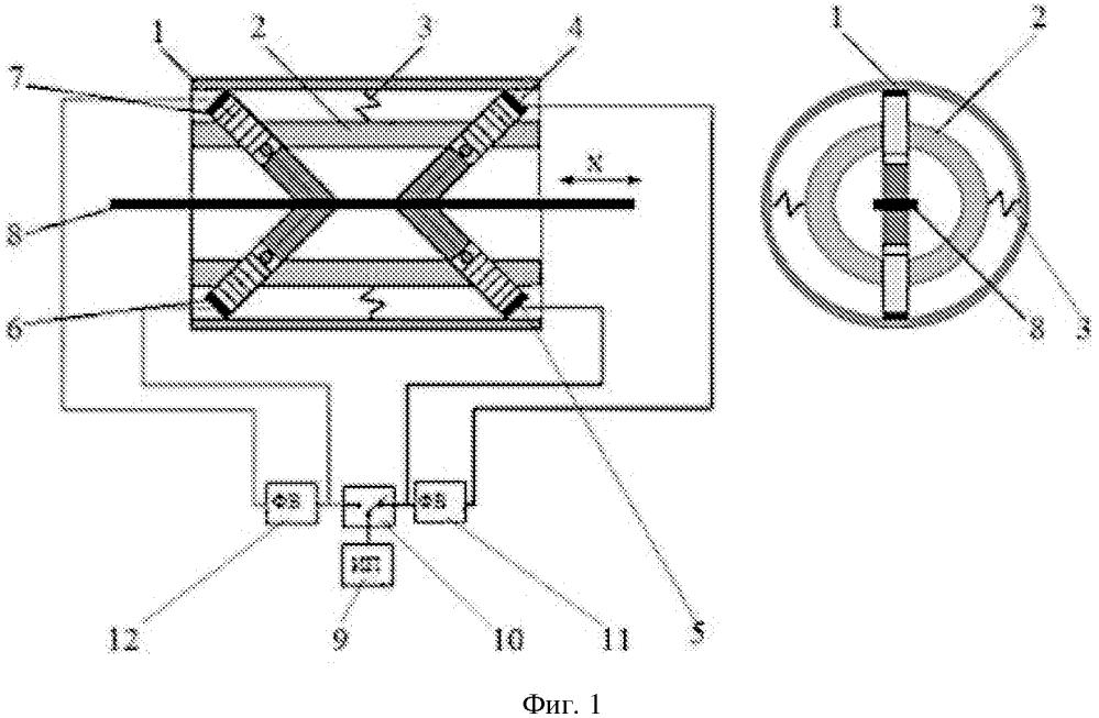 Линейный пьезоэлектрический двигатель