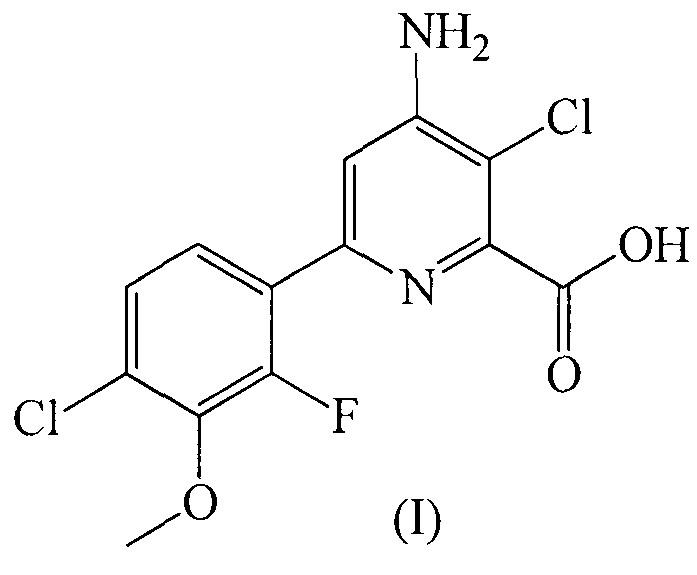 Гербицидная композиция, содержащая некоторые пиридинкарбоновые кислоты и (2,4-дихлорфенокси)уксусную кислоту