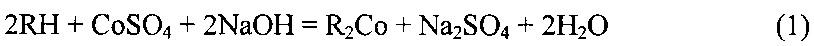 Способ извлечения кобальта из сульфатного раствора, содержащего никель и кобальт
