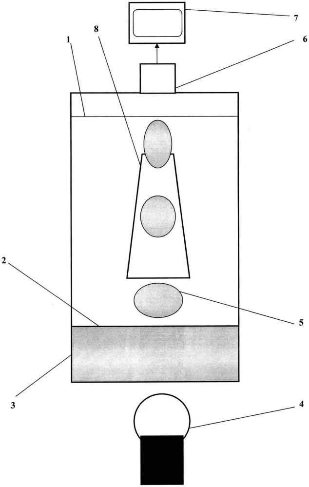 Способ компьютерного озвучивания светильника с плавающими каплями