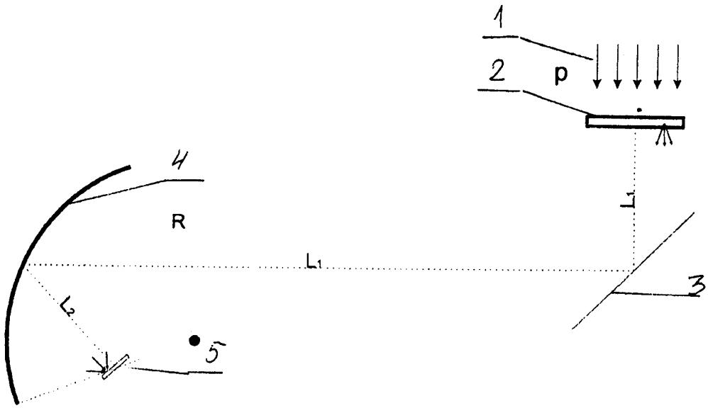 Способ получения протонных изображений