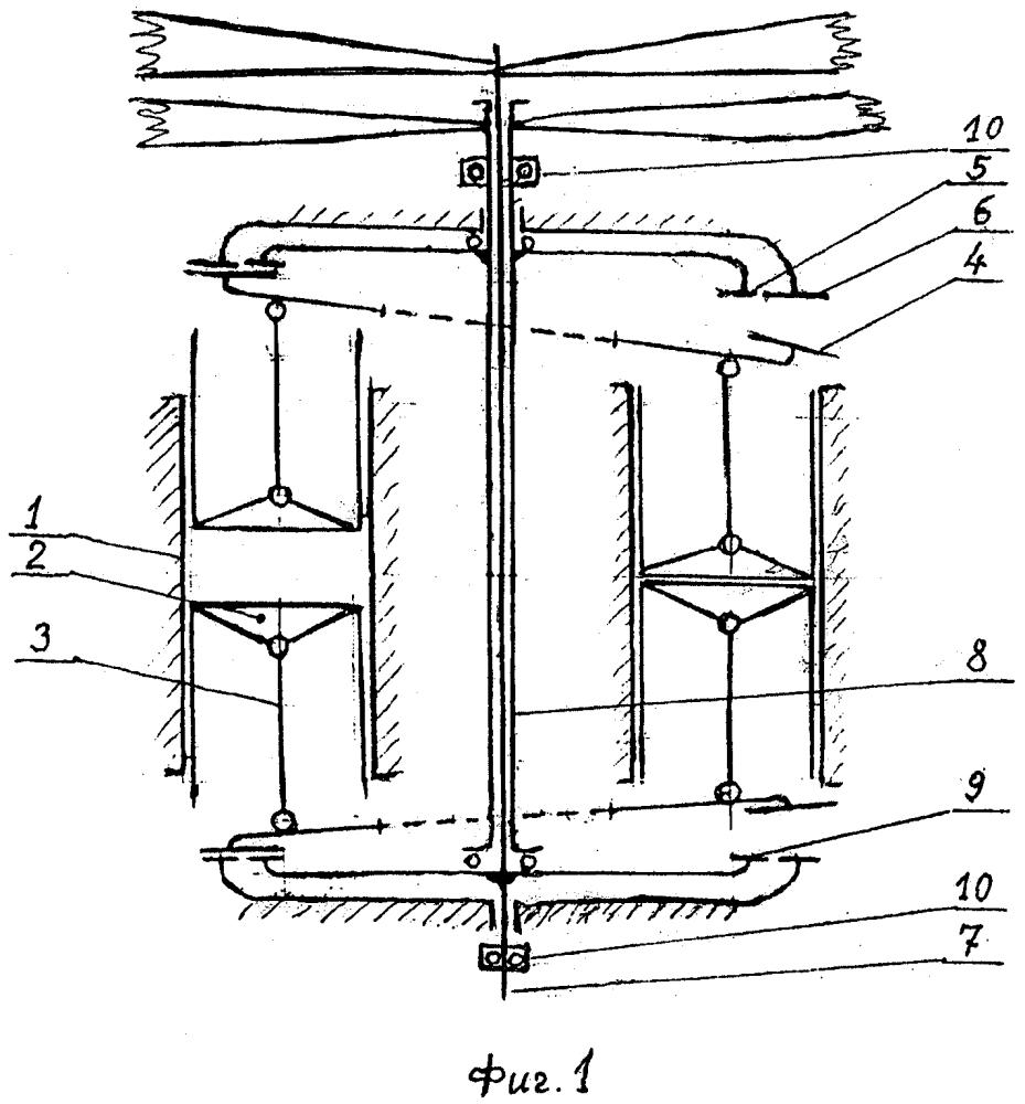 Устройство для привода соосных винтов винтокрылого летательного аппарата