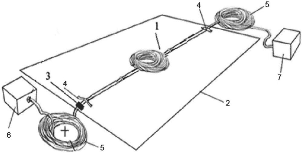 Устройство для испытания монтажного оптического кабеля