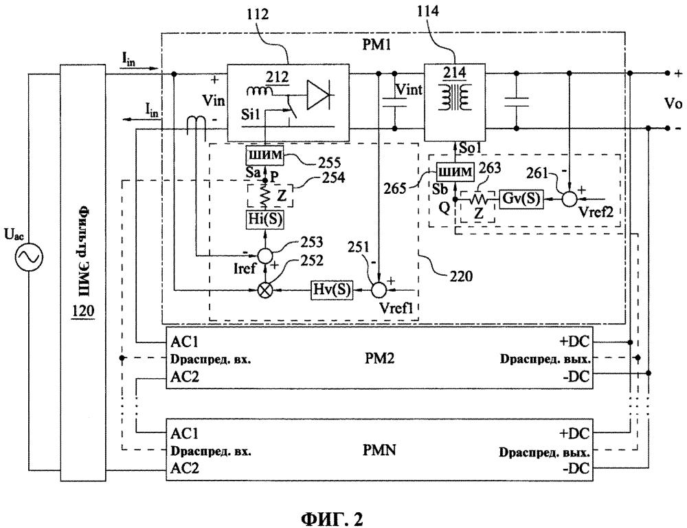 Источник электропитания и способ подачи электропитания