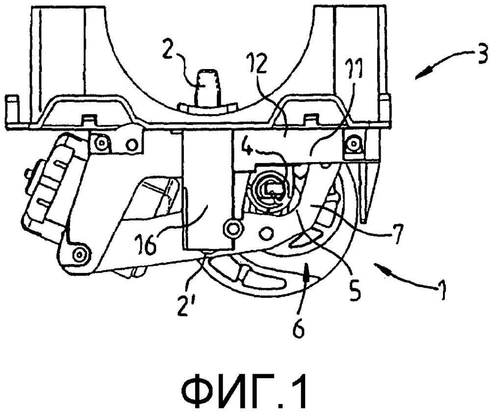 Устройство запирания рулевого механизма для транспортного средства