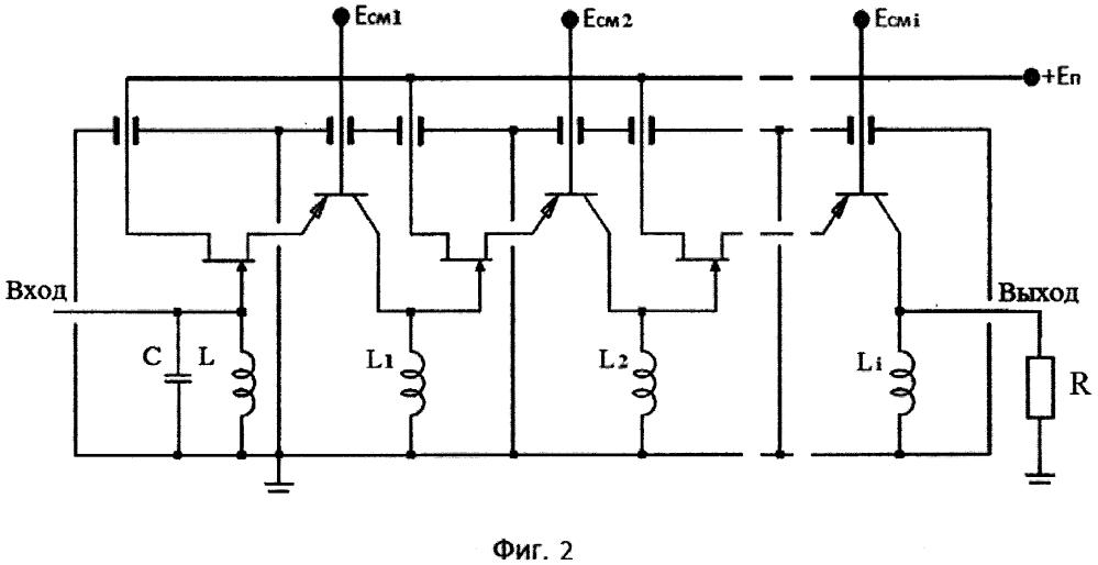 Каскодный усилитель типа общий сток - общая база