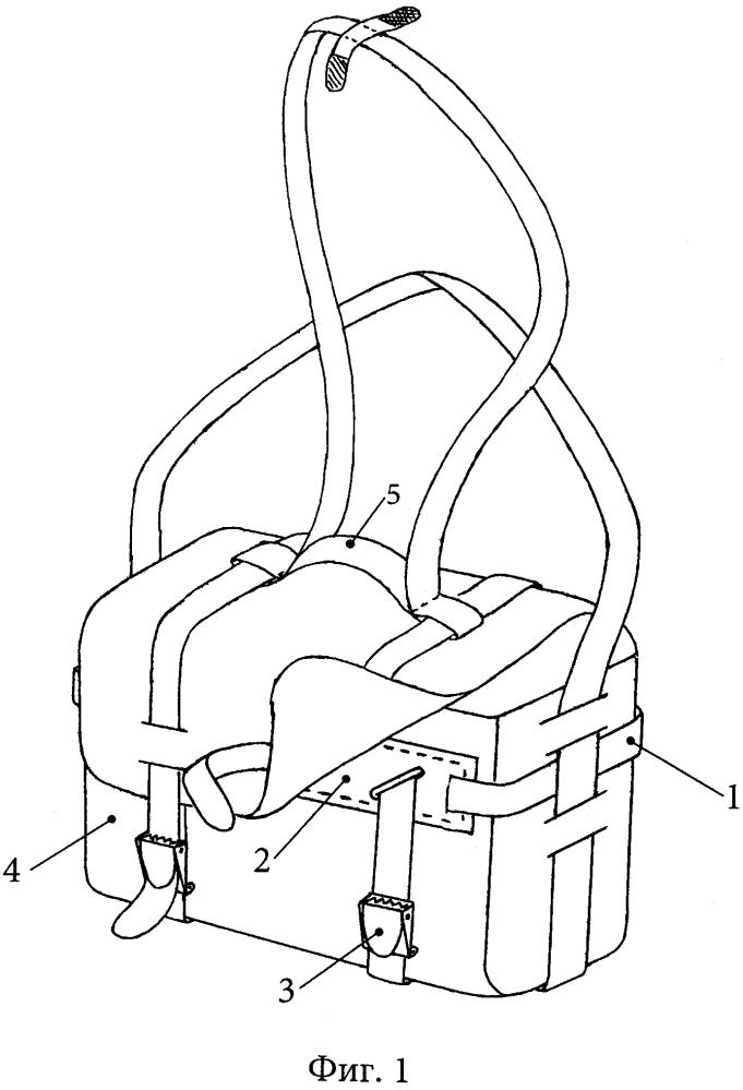 Внешний регулируемый силовой каркас сумки