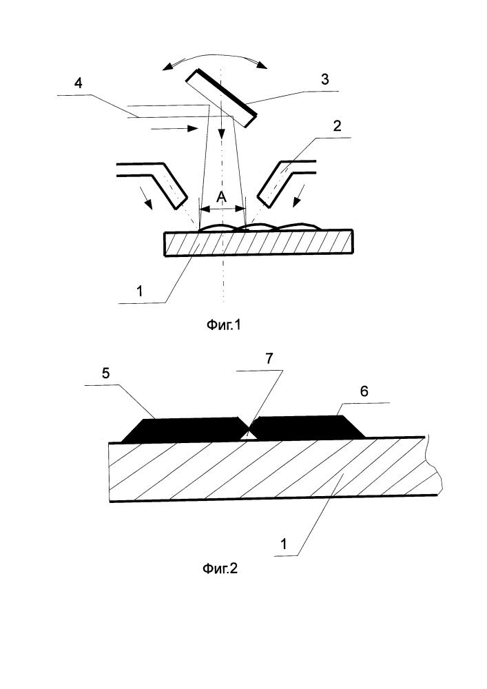 Способ лазерной наплавки металлических покрытий
