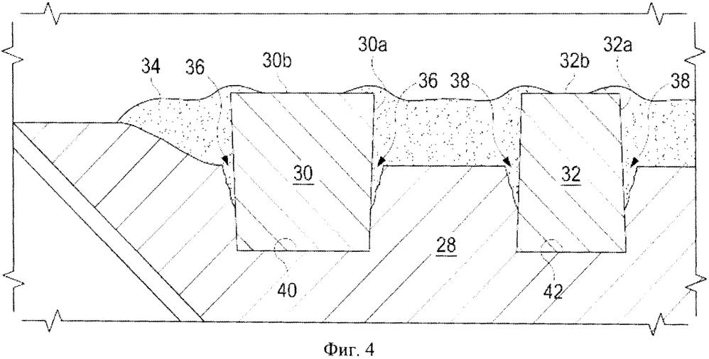 Способ восстановления или усиления карманов резцов бурового долота, способ формирования кармана резца бурового долота и лопасть бурового долота