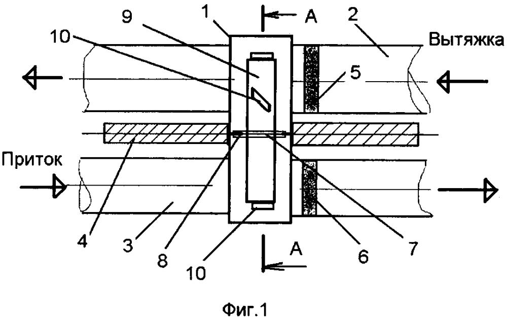 Способ утилизации тепла нагретого воздуха и утилизатор тепла