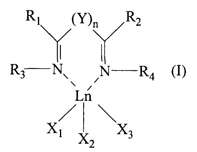 Бис-иминный комплекс лантанидов, каталитическая система, содержащая указанный бис-иминный комплекс, и способ (со)полимеризации конъюгированных диенов