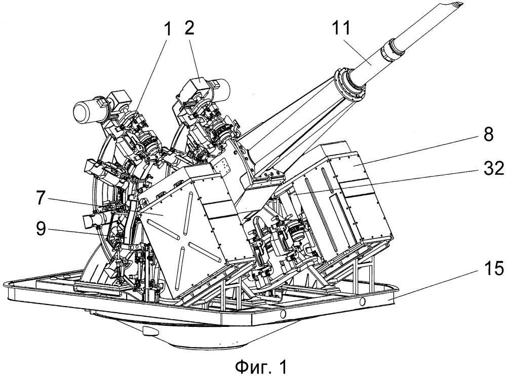 Система питания артиллерийского автомата боеприпасами