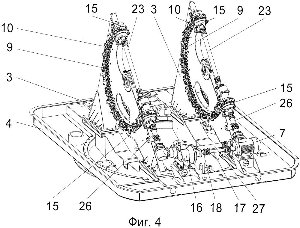 Питатель автомата артиллерийской корабельной установки