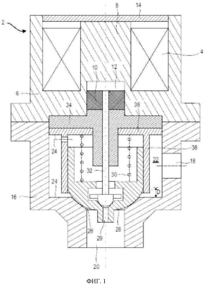 Аэрокосмический электроклапан для криогенного газа высокого давления