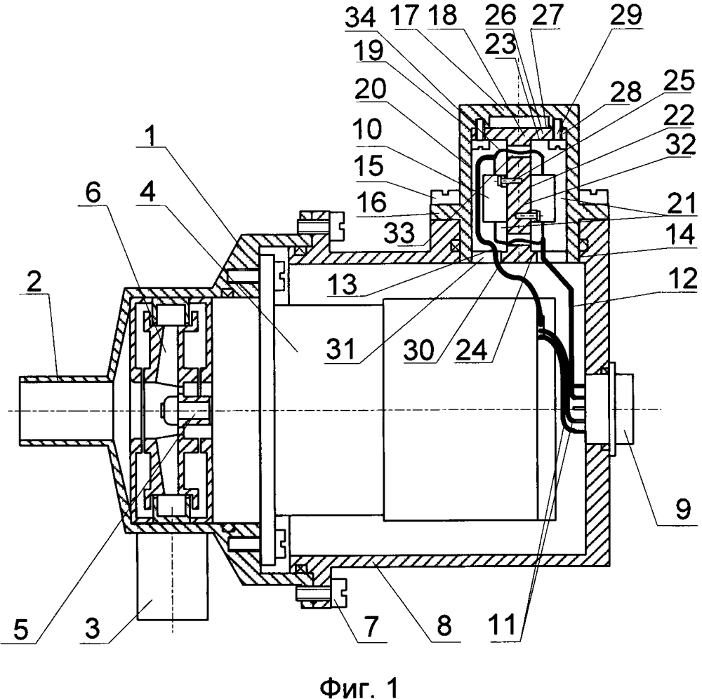 Электронасосный агрегат