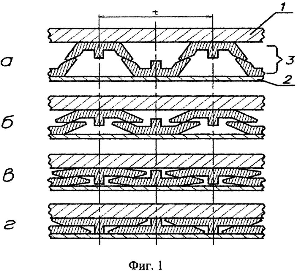 Энергопоглощающая структура для защиты днища наземных транспортных средств