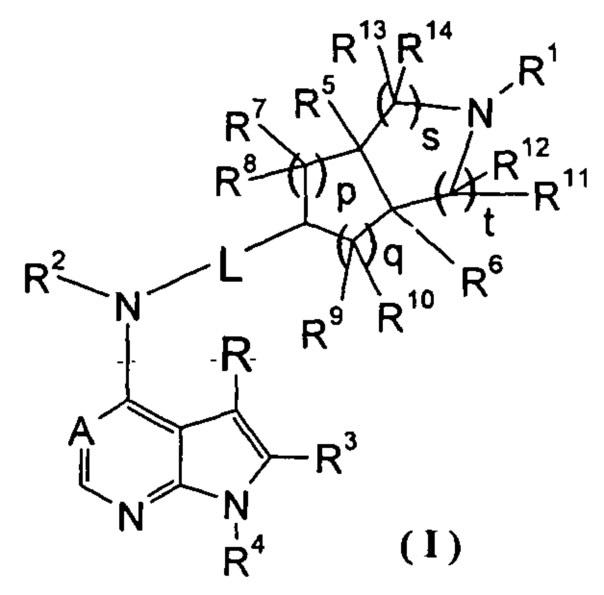Производные пирролопиримидина, полезные в качестве ингибиторов jak-киназы