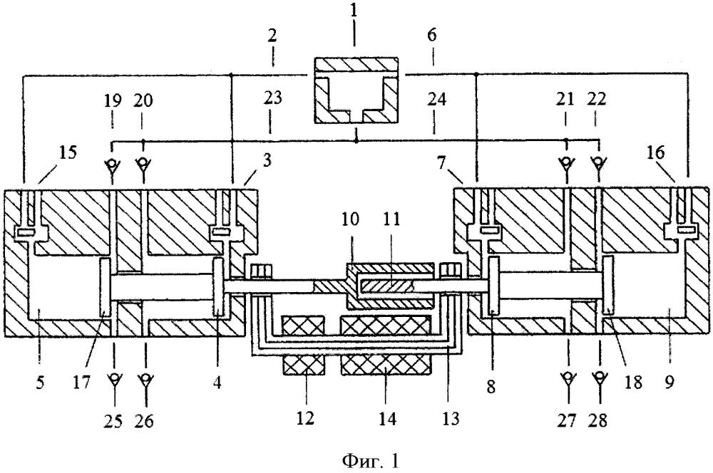 Способ уменьшения сопротивления магнитного потока воздушного зазора между якорями линейного электрогенератора свободнопоршневого энергомодуля с внешней камерой сгорания