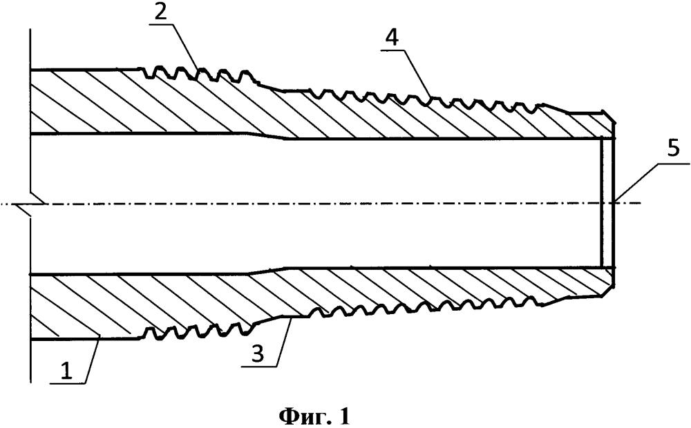 Соединительная конструкция между телом трубы и стальным замком бурильной трубы из алюминиевого сплава
