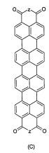 Связанные с полимерами полициклические ароматические углеводороды, содержащие азотсодержащие заместители