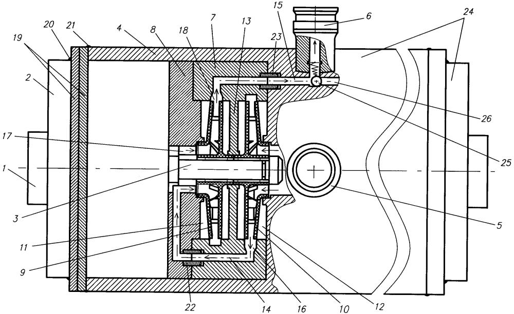 Двухступенчатый электронасосный агрегат