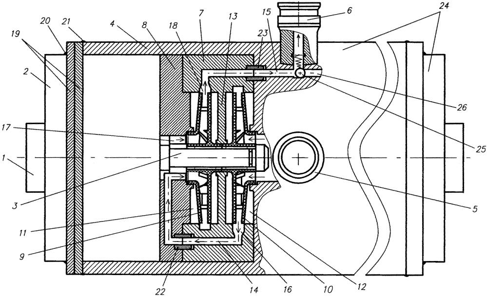 Способ работы двухступенчатого электронасосного агрегата