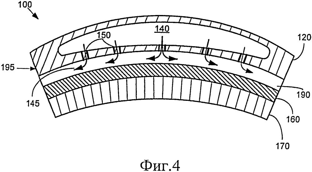 Держатель уплотнения и сопловая лопатка для газовой турбины (варианты)