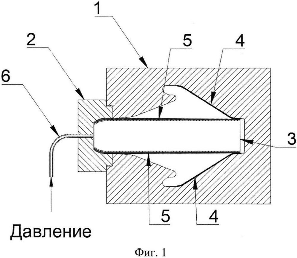 Способ формообразования из трубчатых заготовок деталей с элементами жесткости в виде выворотов