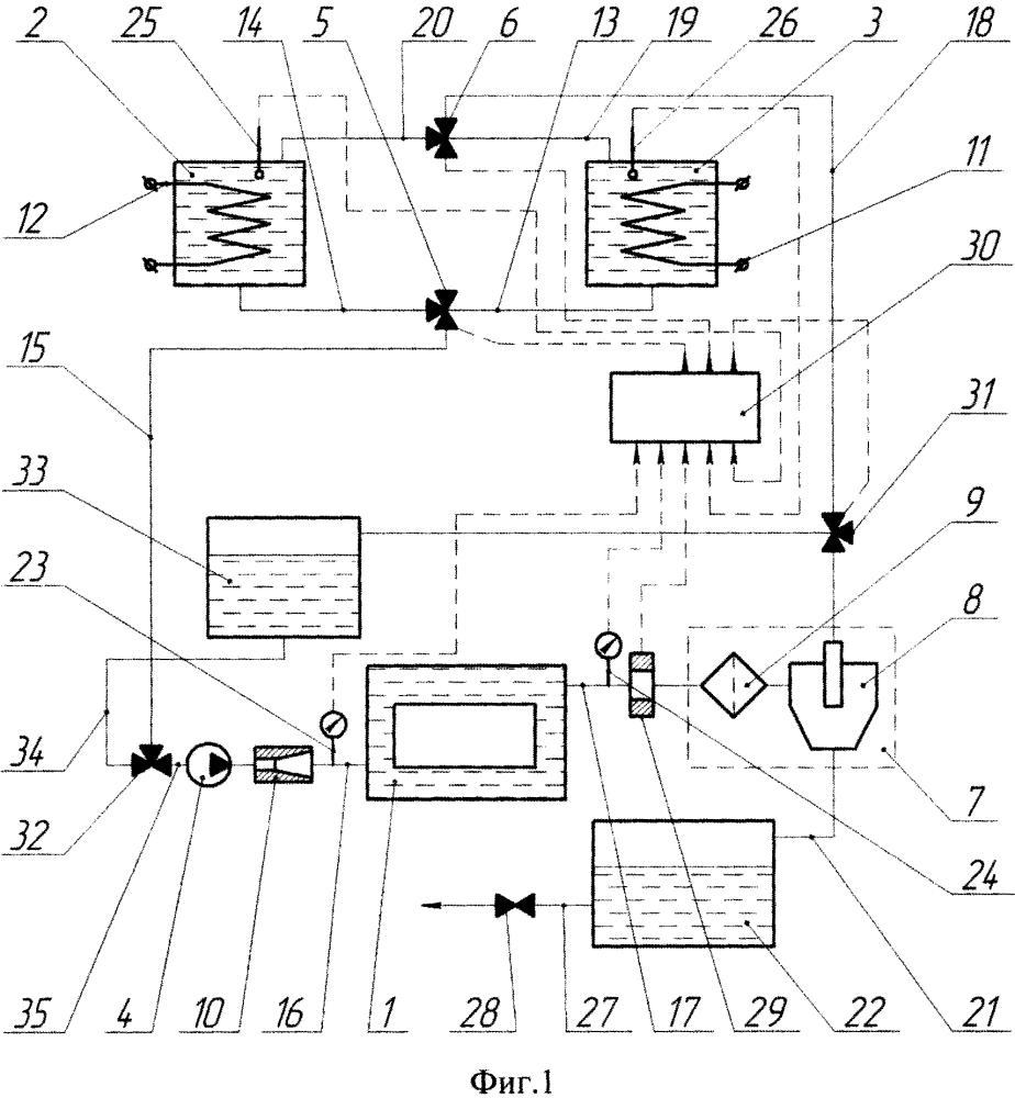 Способ очистки теплоэнергетического оборудования от отложений и накипи и устройство для его осуществления