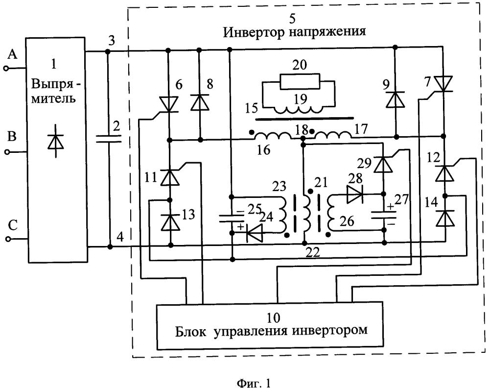 Тиристорный преобразователь частоты