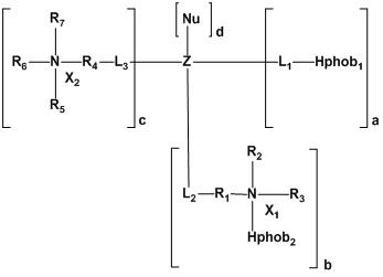 Катионные полиглицериновые композиции и соединения