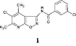 5-хлор-3-(3-хлорфенилкарбоксамидо)-4,6-диметилизоксазоло[5,4-b]пиридин в качестве антидота 2,4-д на подсолнечнике