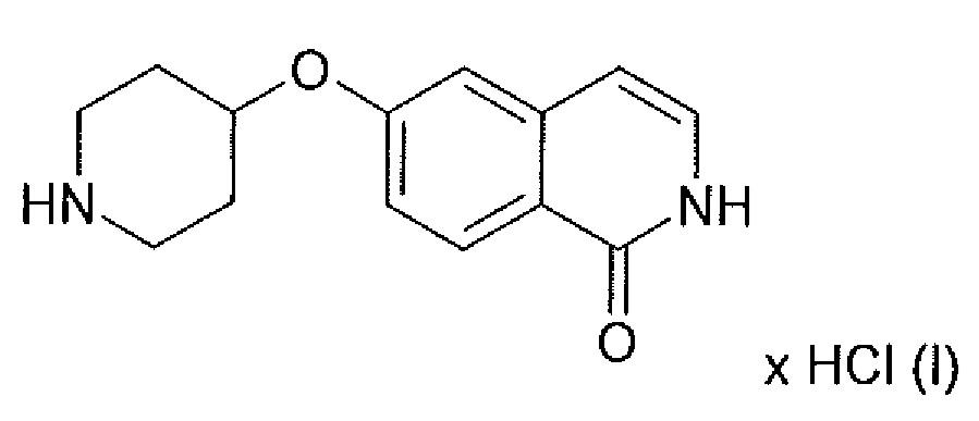 Кристаллические сольваты гидрохлорида 6-(пиперидин-4-илокси)-2н-изохинолин-1-oha