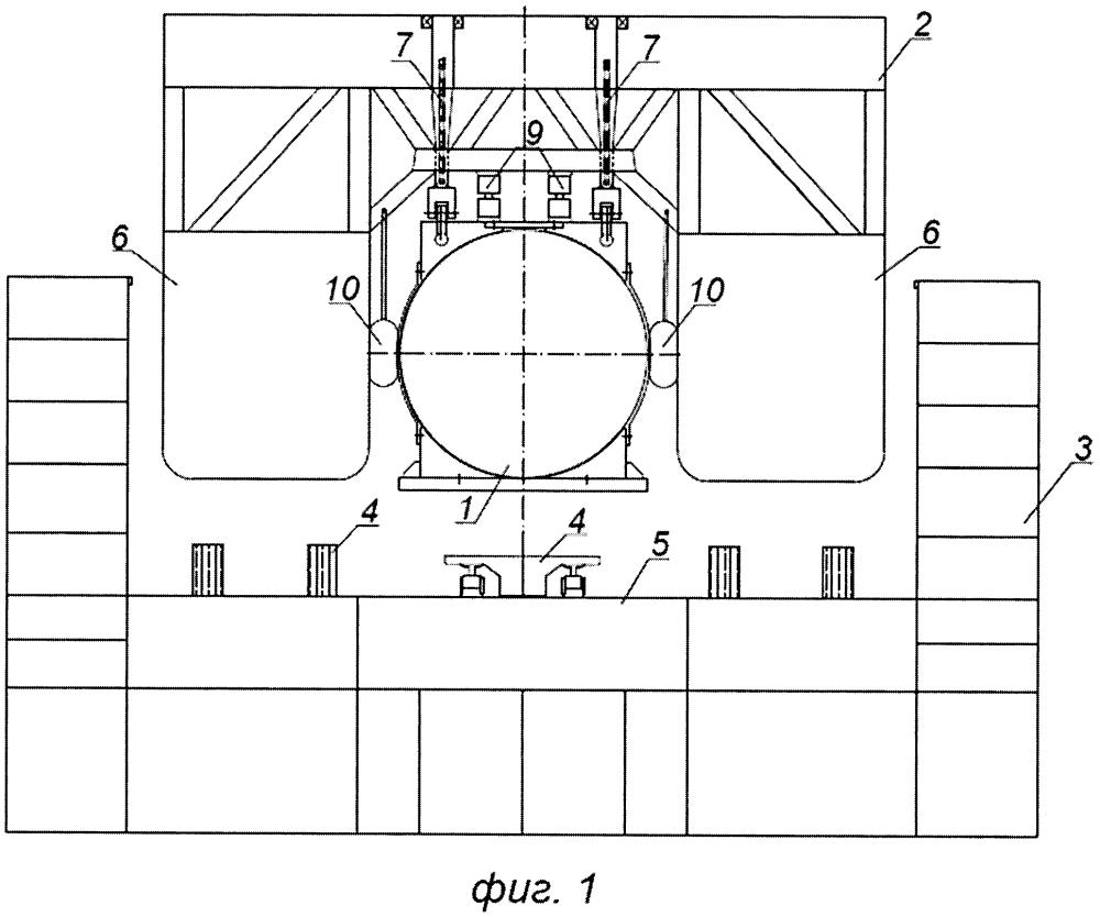 Способ погрузки, транспортировки и установки на морское дно тяжеловесного и крупногабаритного морского подводного объекта
