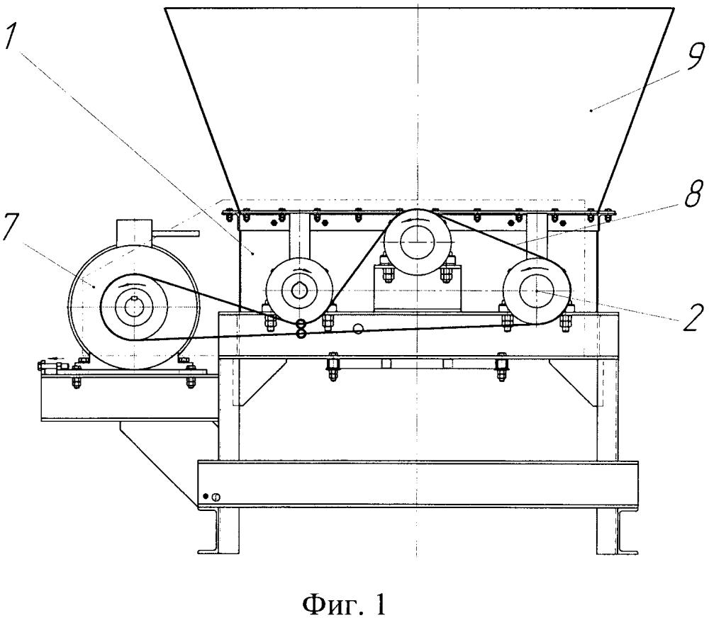 Устройство для измельчения мерзлых комков глины