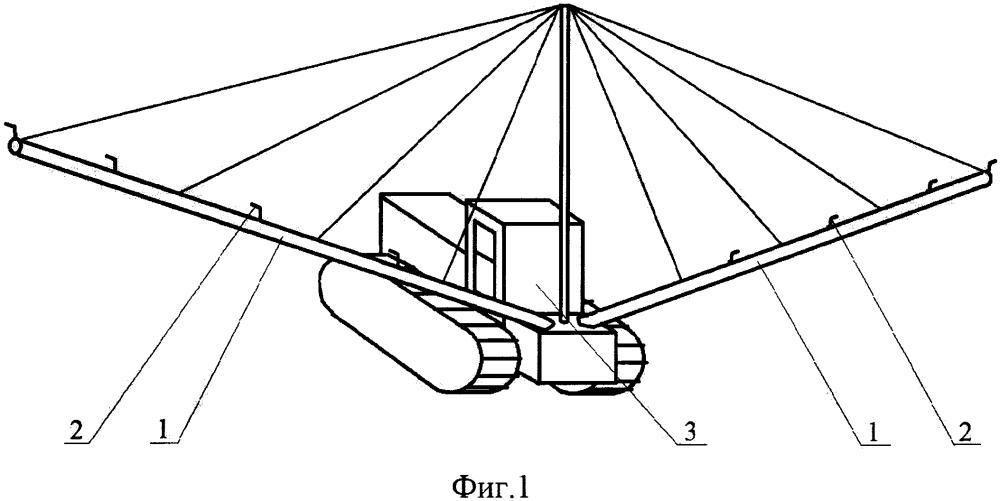 Дождевальная машина (варианты)