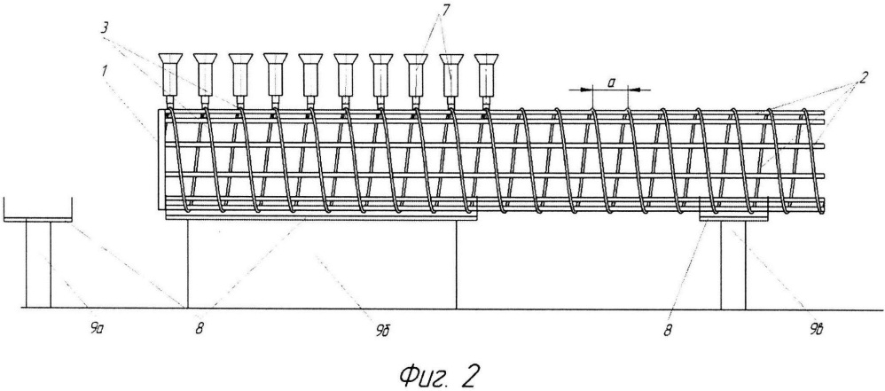 Способ изготовления неметаллического арматурного каркаса и автоматическая установка для его осуществления