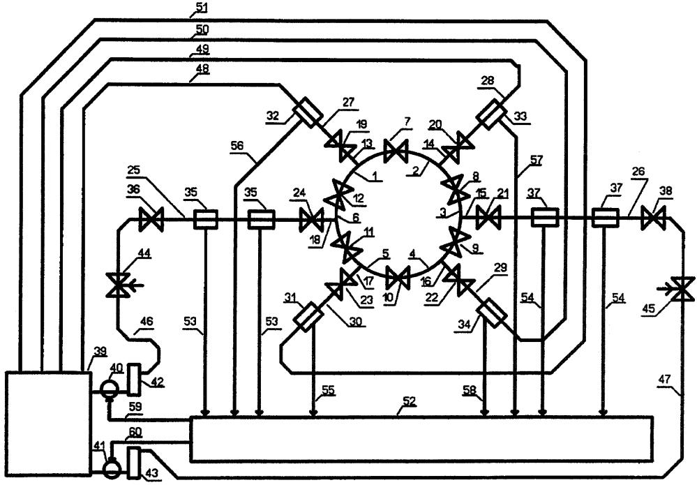 Установка для испытания, поверки и настройки средств измерений расхода жидкости